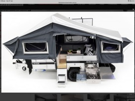 New, Set up for Family off grid camping.