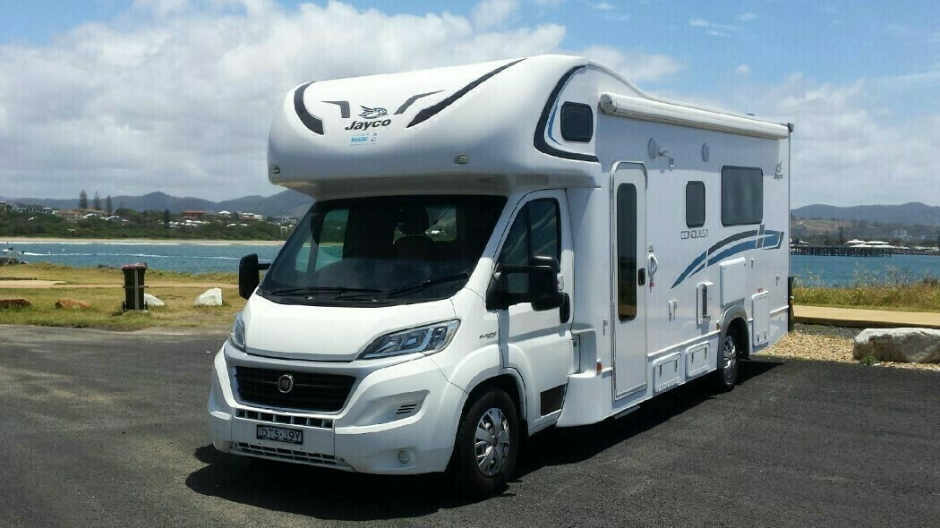 Coffs Harbour Motorhome - Cover Image