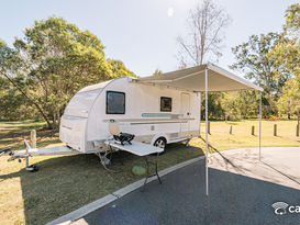 Adria Light Weight Family or Couples Caravan - No Brake controller Required