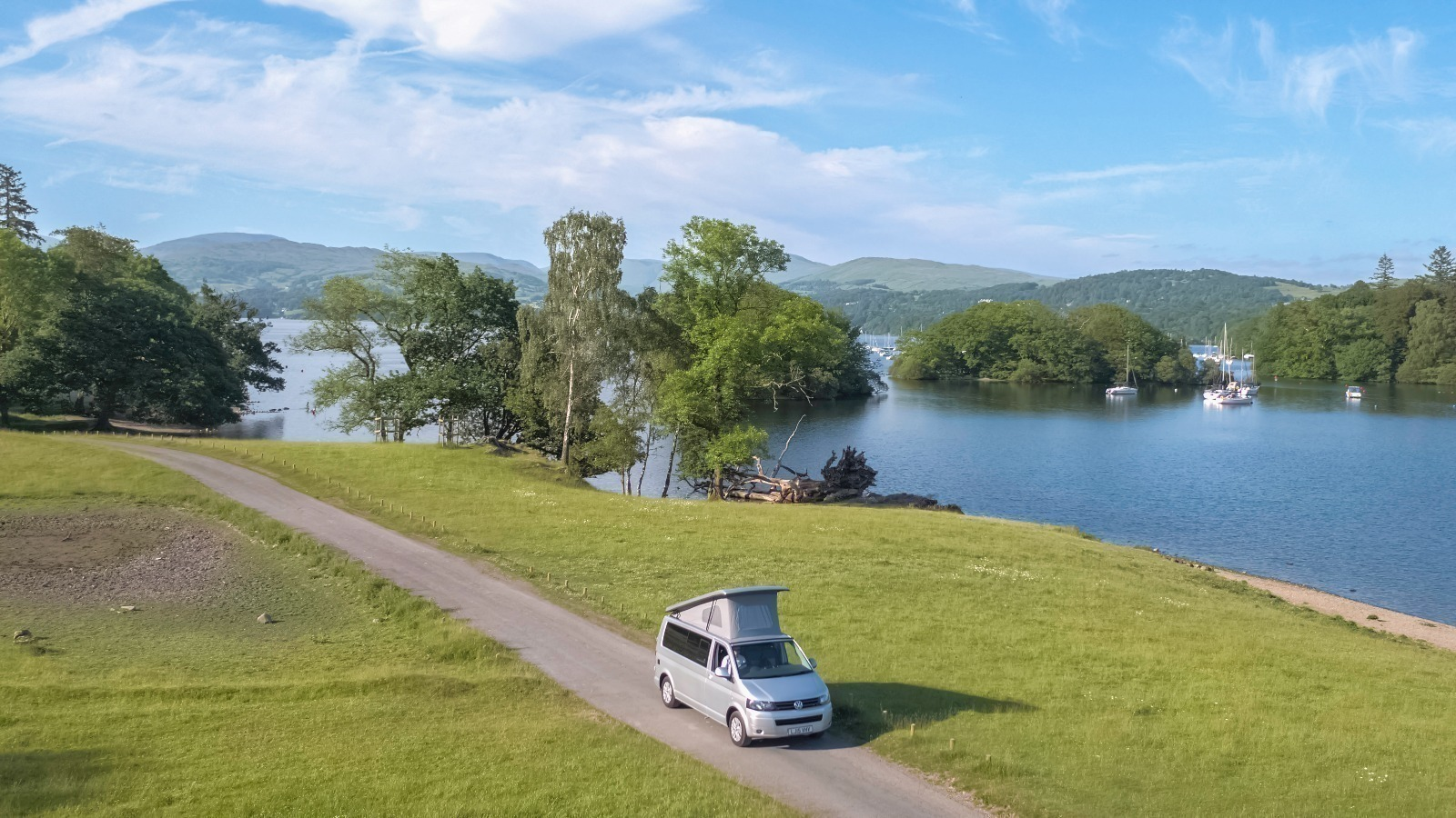 Unique luxury heated VW Campervan Lake Windermere - Cover Image