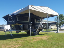 Family-friendly Camper Trailer - Drop-off/set up Only
