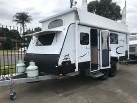The Bush Palace Voyager (Jayco Journey 17.58-3OB)
