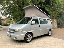 ULTRA COMFORTABLE LHD VW 4 BERTH WESTFALIA FREESTYLE CAMPERVAN FOR HIRE