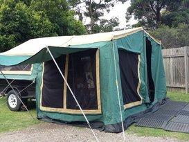 Malcom's camper trailer