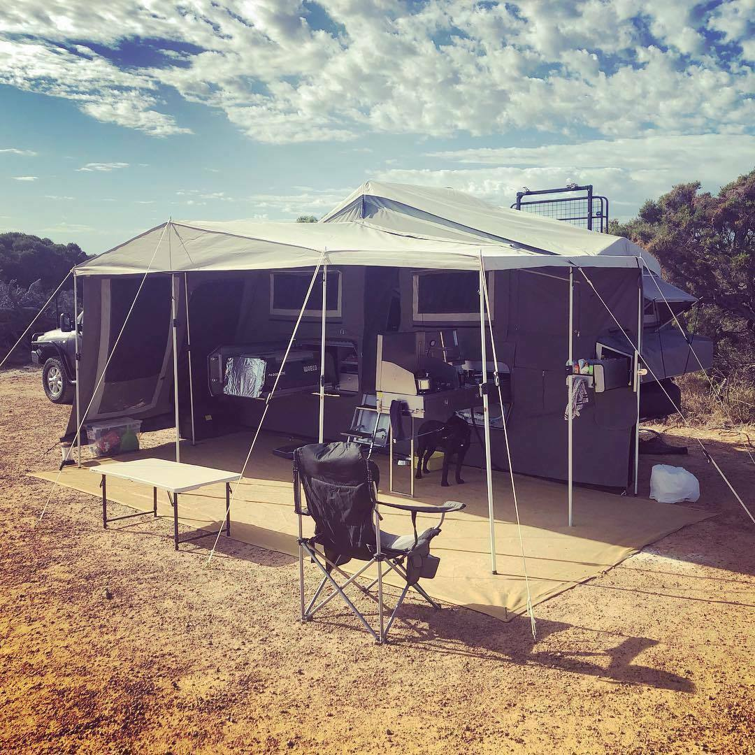 Hard-floor Camper Trailer for Hire in Forrestfield WA from
