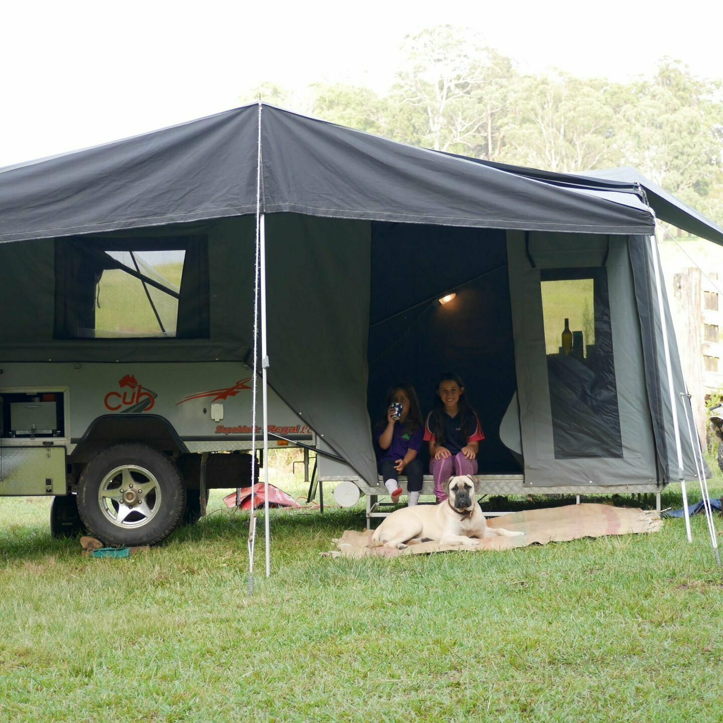 The Redbankway Cub Camper (ON-SITE HIRE ONLY) - Cover Image