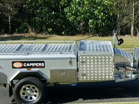 Easy Set up rear fold off road Camper