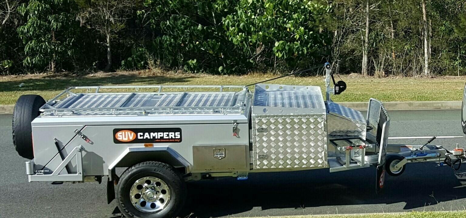 Easy Set up rear fold off road Camper - Cover Image