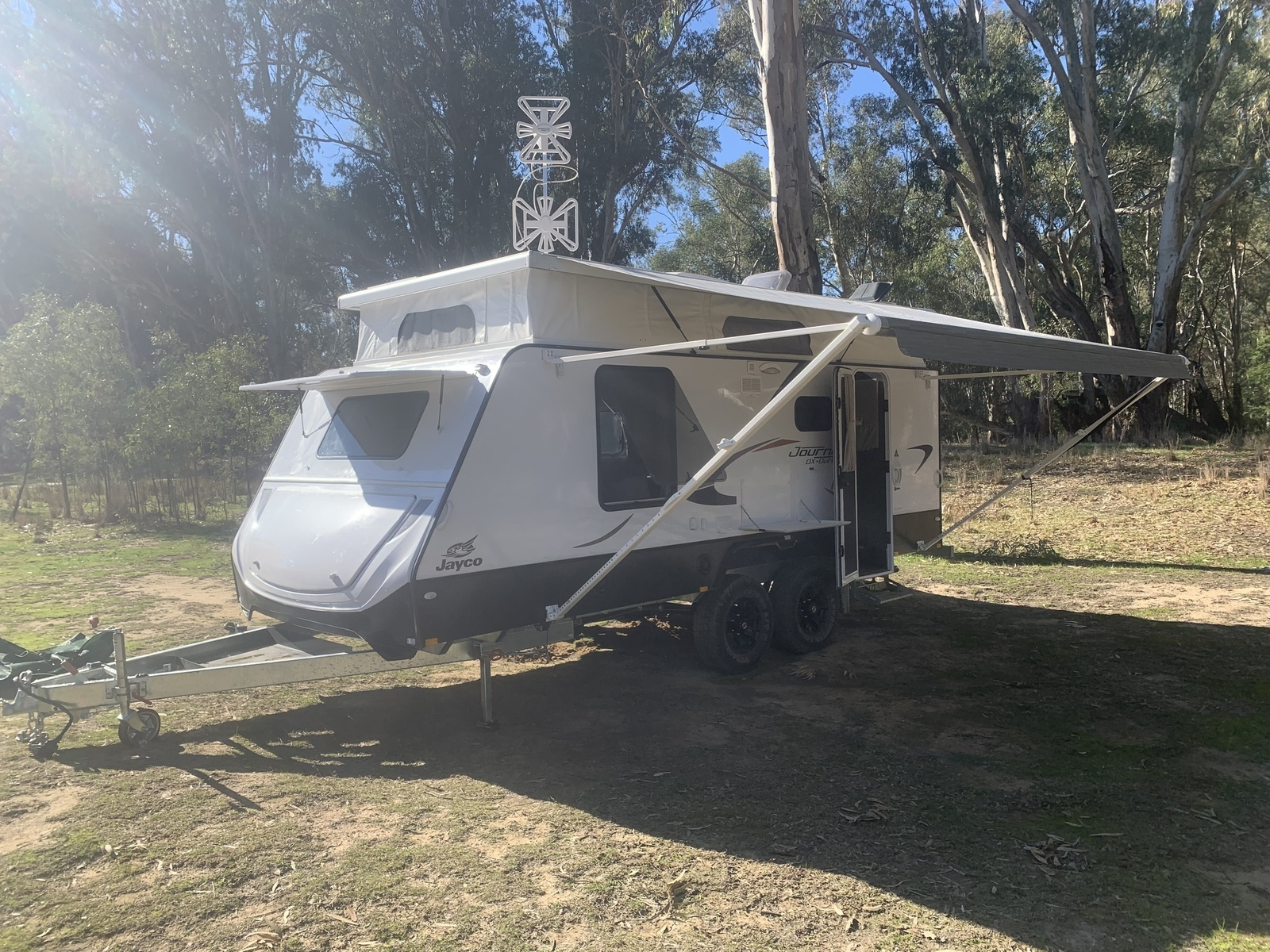 2018 Jayco Journey Deluxe Outback Full Ensuite - Cover Image