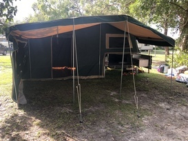 Versatile camper