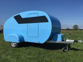 Teardrop Trailer Caravan - Cover Image