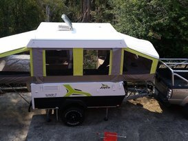 Cannon's  Jayco Swift Outback 2015