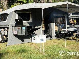 EzyTrail Buckland Camper Trailer Hire Brisbane