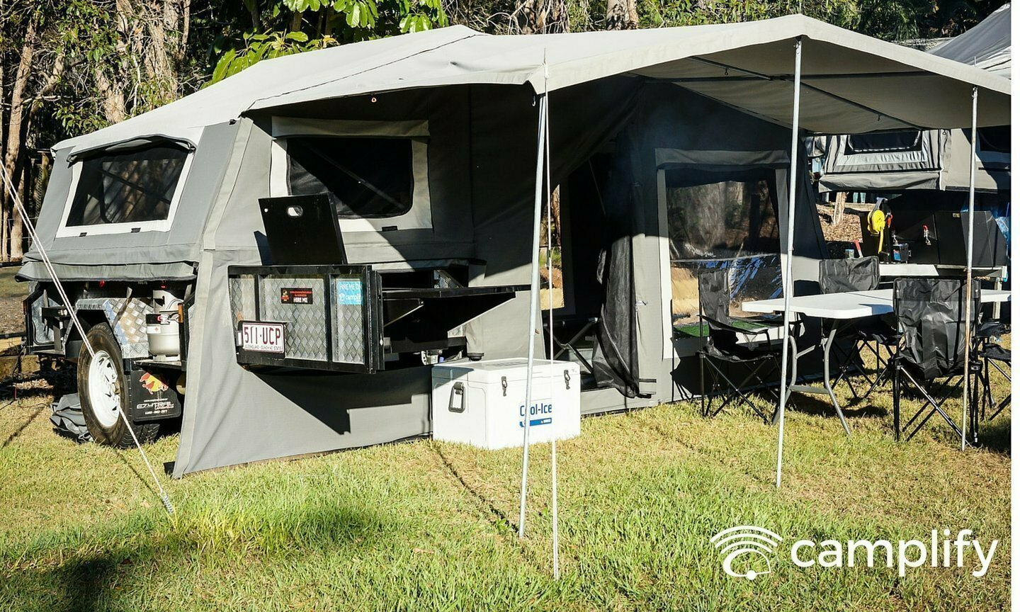 Soft Floor Camper Trailer For Hire In Brisbane Qld From 50 0
