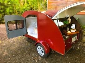 'Gypsy June' the gorgeous Teardrop Camper