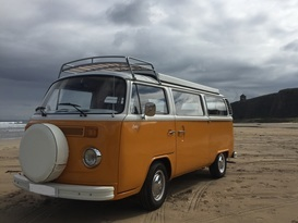 Sally the Classic VW T2 Campervan