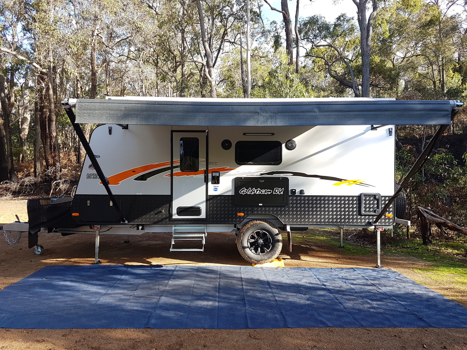 Goldstream 4WD Caravan - Cover Image