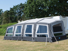 Sam's van, offering versatile glamping for groups of up to 8!