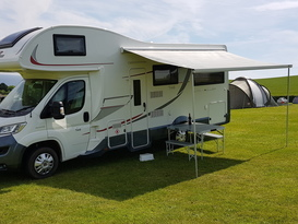 Super spacious and comfortable motorhome