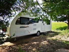 6 berth family caravan