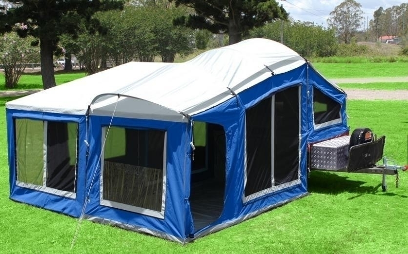 Soft Floor Camper Trailer For Hire In Oxenford Qld From