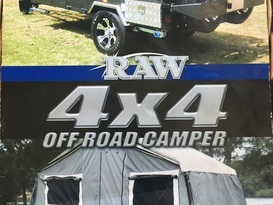 RAW 4x4 Off Road Forward Fold Camper