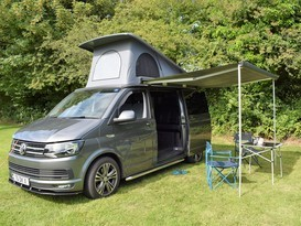 Beautiful 2016 VW T6 Highline Campervan - solar for off grid camping