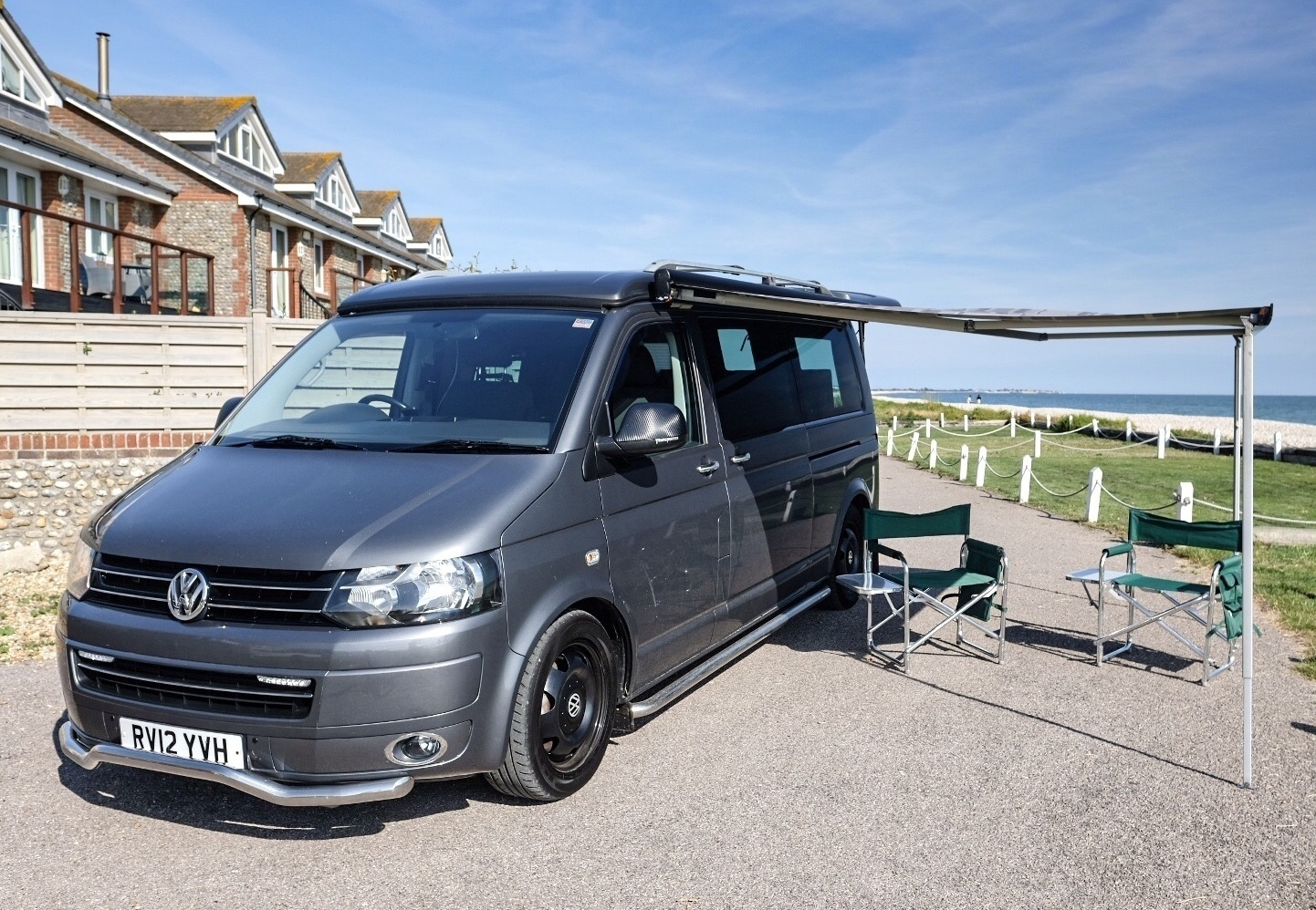 Campervan For Hire In Emsworth From 95 00 Vw T5 Auto 4 Berth Pop Top Lwb And 4motion 4wd Camplify