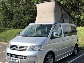 VW California 4 berth with pop-top & optional 5th seat