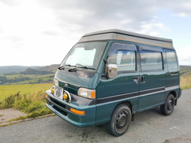 Pocket Peak District Campervan