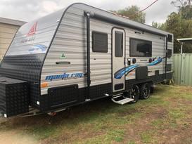 New Age Triple Bunk Family Caravan