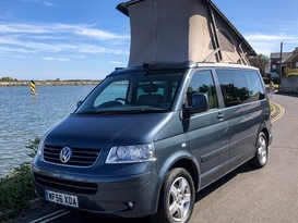 VW California pop top sleeps 4 with optional 5th seat