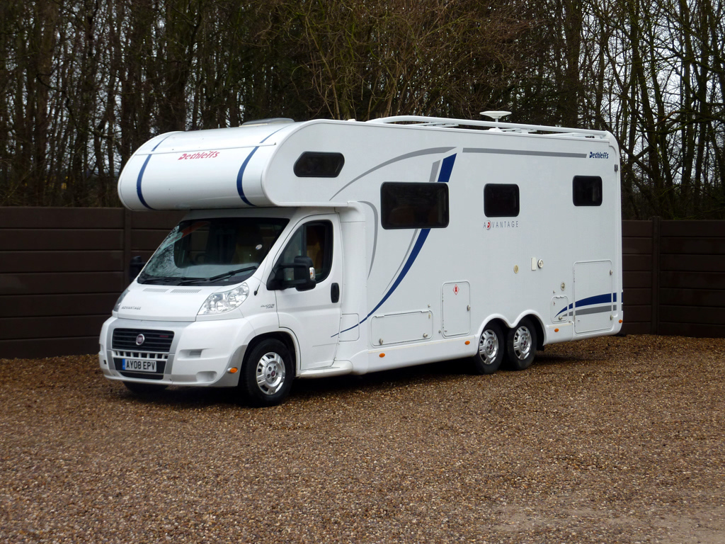 This is Martha our 6 berth Motorhome - Cover Image
