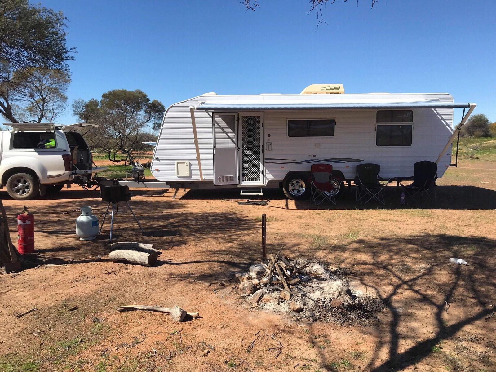Oakabella Family Caravan, Sleeps 4, Coral Coast, Geraldton, Kalbarri - Cover Image
