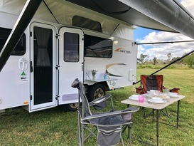 Northern Vic Caravan Hire - Family Van No.1. 2019 Jayco Journey (pop top) - Cover Image
