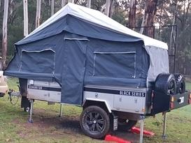 2018 Black Series Dominator Forward Fold Camper Trailer