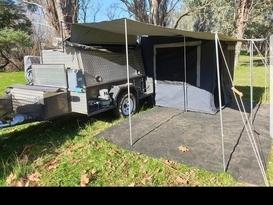 Camper with bulk storage