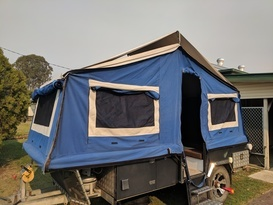 Forward Fold Camper Trailer