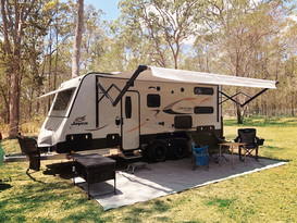 Journey Road Caravan Hire - Jayco Journey Outback 19.61-3