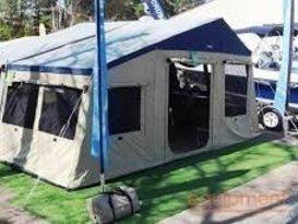 Oztrail Camper Trailer w/Camp Kitchen (sleeps up to 10)