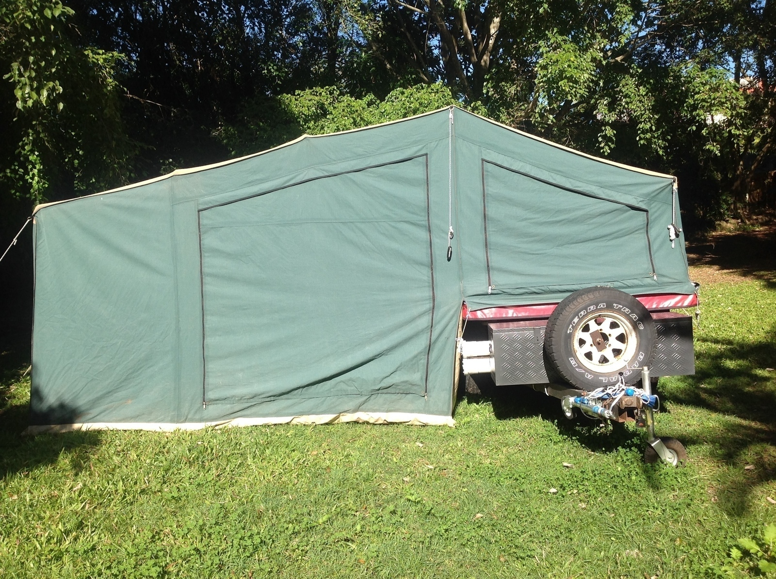 "Soft-floor Camper Trailer for Hire in Carrara QLD from $50 0 ""MDC"