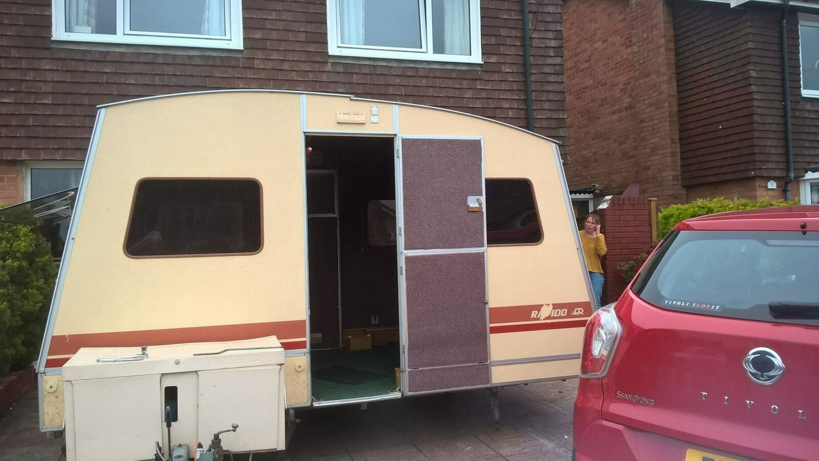 RAPIDO - Folding Caravan - Cover Image