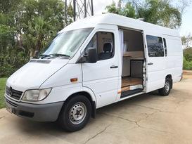 Pamela Vanderson the Sprinter Van