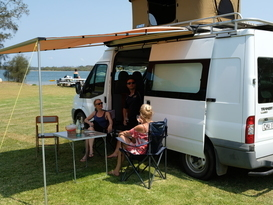 Large 4 person campervan (Alvin)