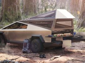 Tesla Cybertruck Campervan - Available 2021