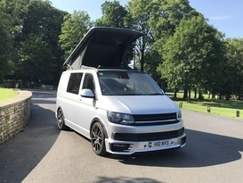 4 berth VW Transporter Highline