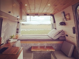 The Nordic Cabin - Ultimate Vanlife Fitout