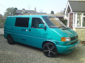 VW Transporter (T4) 2 Berth