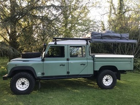 'Tullulah' the Defender 130 Overlander - Cover Image