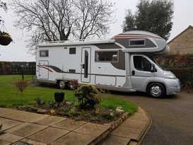 Luxury Burstner Argos 7 Berth